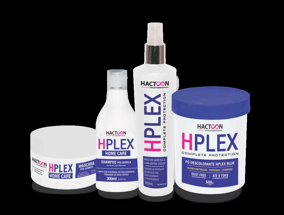 Linha Hplex hactoon cosmeticos