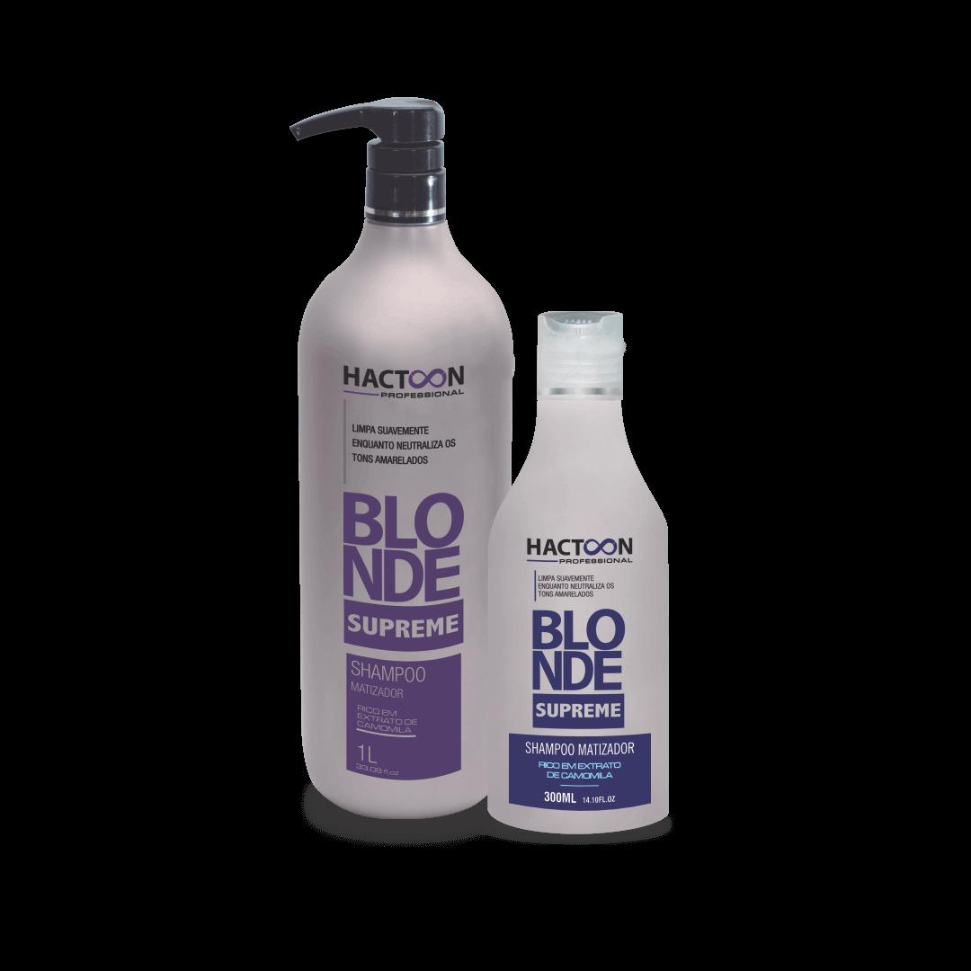 Shampoo Blonde Supreme 1000 ml e 300 ml