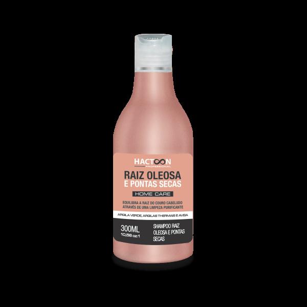 Shampoo Raiz Oleosa e Pontas Secas