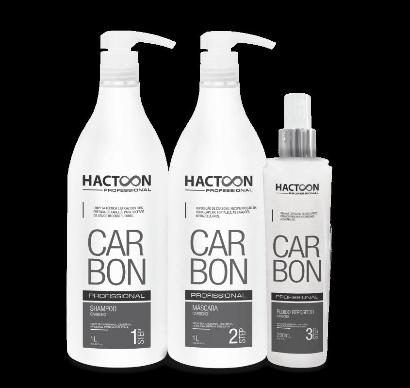 Linha carbon – hactoon cosmeticos