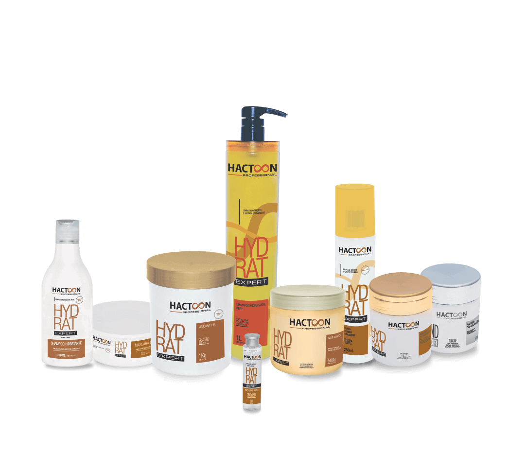 Linha completa hydrat expert – produtos